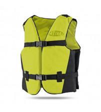 Colete Flutuador Canoa Infantil - Amarelo 20Kg