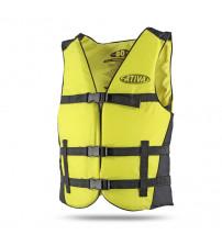 Colete Flutuador Canoa Infantil - Amarelo 50Kg