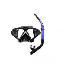 Kit de Mergulho Cetus New Parma Mascara + Snorkel