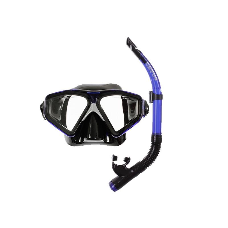 f92d33a85 Kit de Mergulho Cetus New Parma Mascara + Snorkel