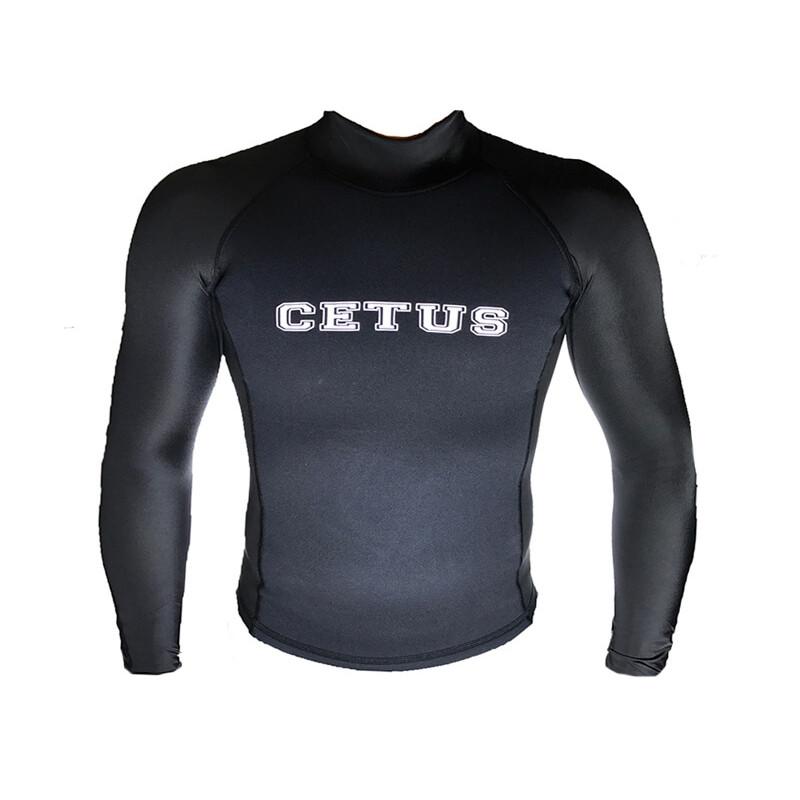 Camisa térmica Natação e Surf NeoLycra Cetus 66dd5a191dd12