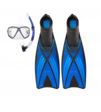 Kit de Mergulho Cetus Icaro Mascara + Snorkel + Nadadeira Ray