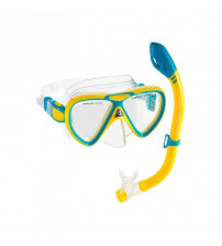 f302b006a Kit Cressi Infanto-Juvenil Dry(Seco) - Amarelo