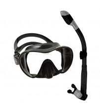 Kit de Mergulho Cressi Mascara Frameless c/ Snorkel Dry