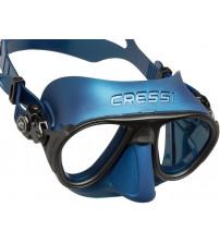 Máscara Cressi Calibro Anti Embaçante - Azul 888779fa74