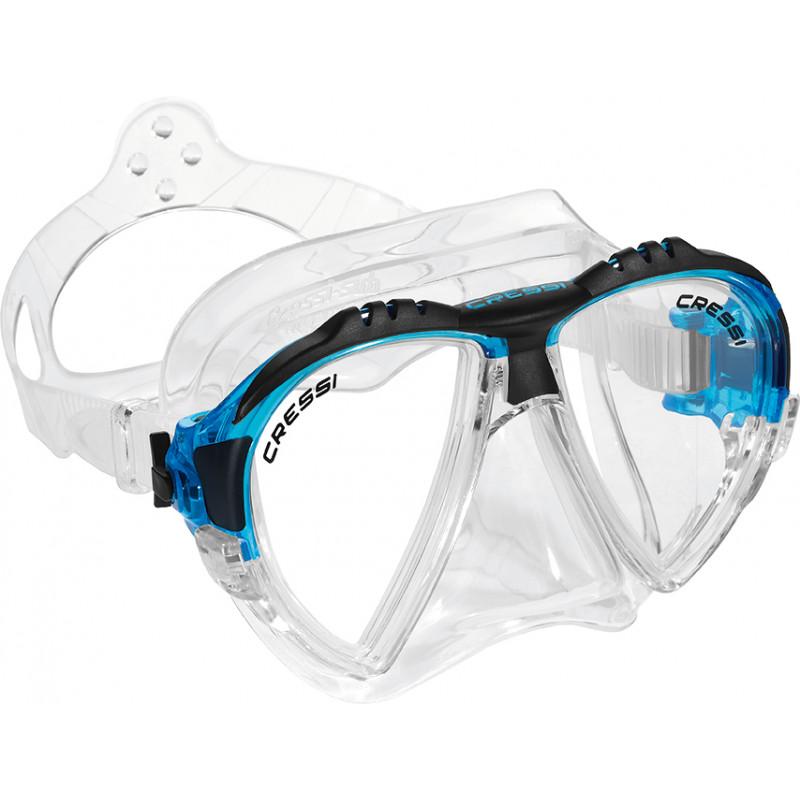 Mascara de Mergulho Cressi Sub Matrix Azul 6bf4c5e59e