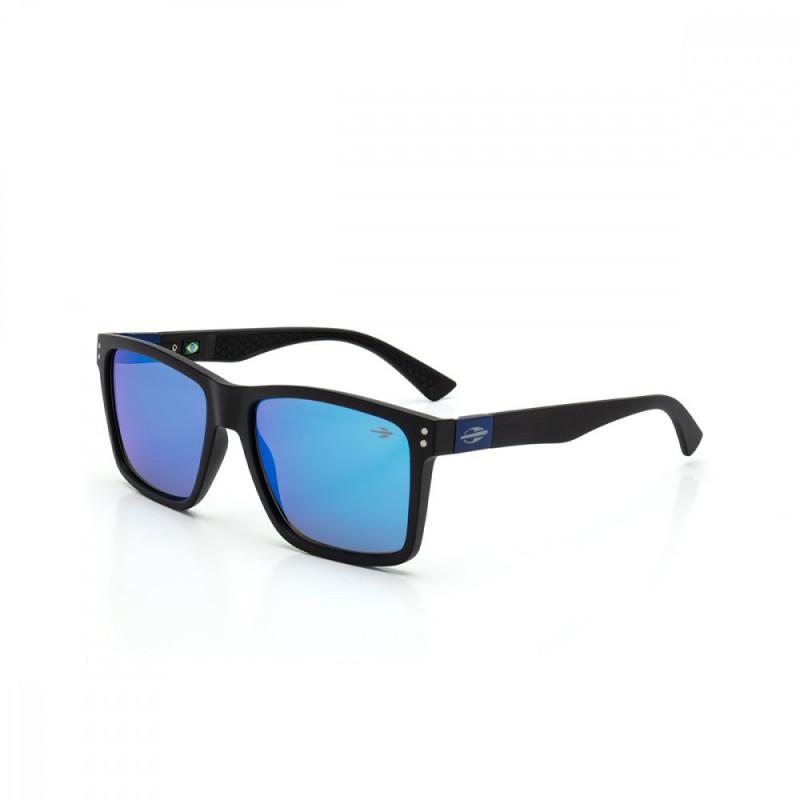 Oculos Sol Mormaii Cairo Preto Fosco L. Revo Azul Ice c2eb155cf8