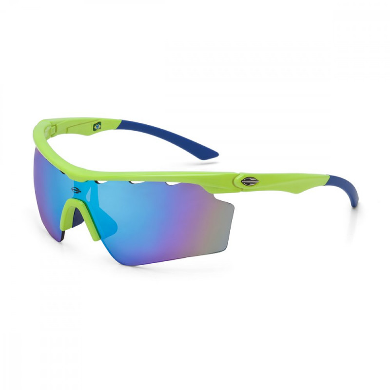 Oculos de Sol Mormaii Athlon V - Amarelo Azul f8cb34cc31