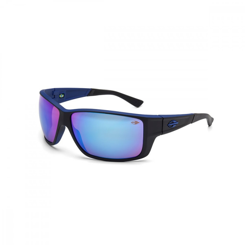 fd88da0cb Oculos de Sol Mormaii Joaca III Fosco Preto/Azul