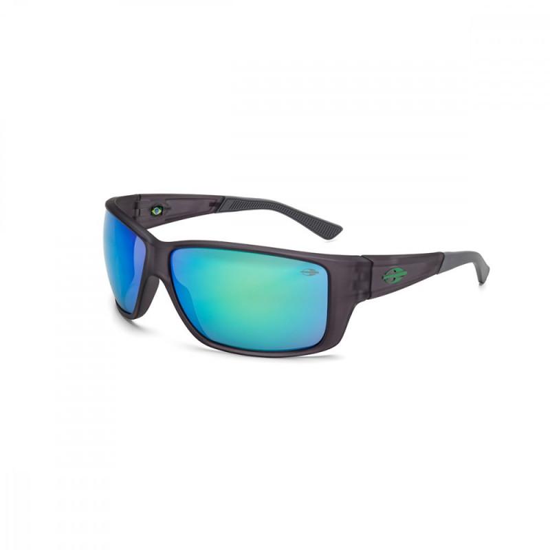 Oculos de Sol Mormaii Joaca III Fume Escuro Fosco Cinza Verde 24db106fbe