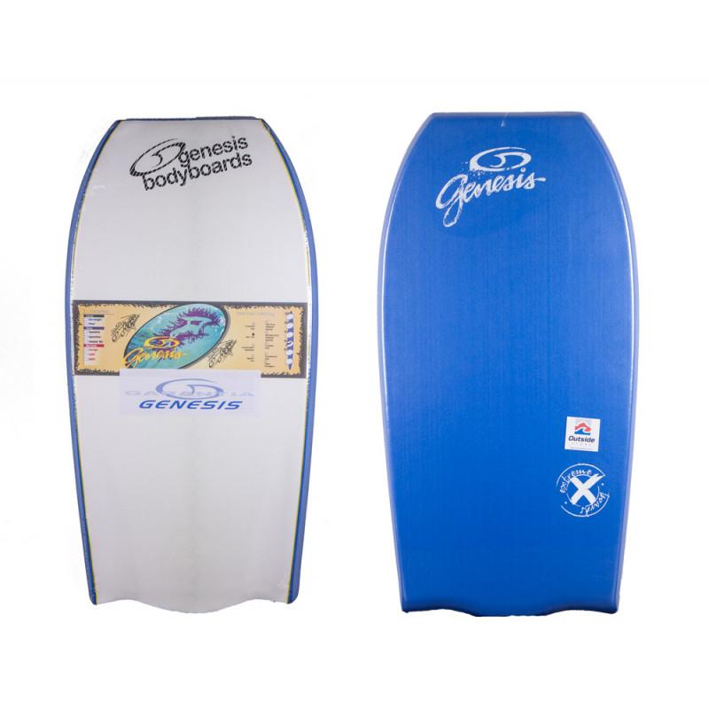 Prancha Bodyboard Genesis Extreme - Branco Azul 9d07d6ec965