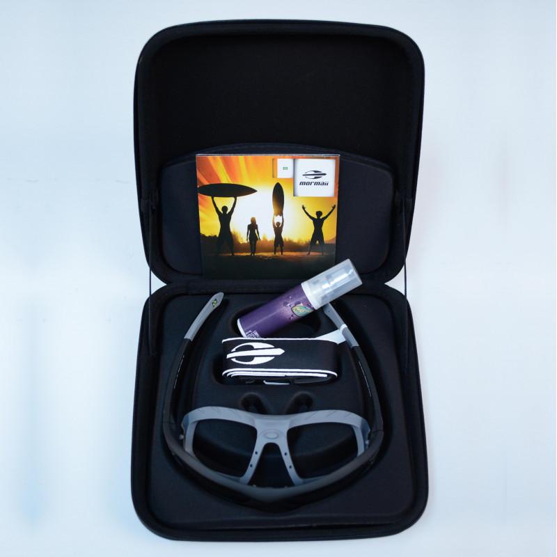 Oculos Sol Mormaii Floater Kit Preto Fosco C  Branco Rajado Exter 5db410083a