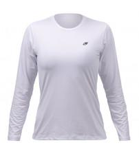 0803dbae06 Camisa Com Proteção Solar Mormaii UV50+ Dry Action Feminina - Branco