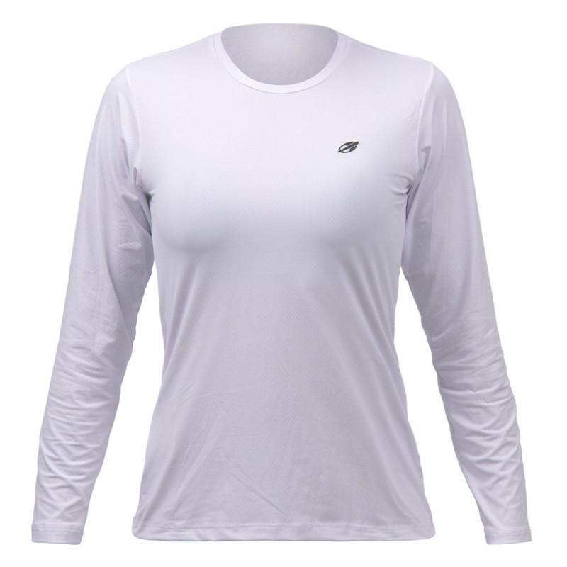 7ae7a70ac1 Camisa Com Proteção Solar Mormaii UV50+ Dry Action Feminina - Branco