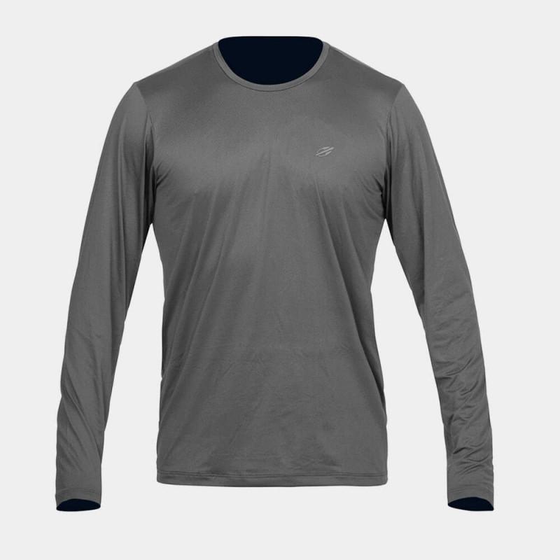 8f06c018847c6 Camisa Com Proteção Solar Mormaii UV50+ Dry Action Masculina - Cinza