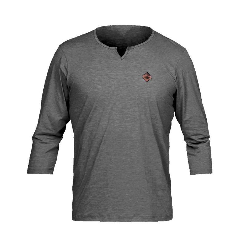 Camiseta Proteção Solar Mormaii Dry Comfort Masculina - Cinza d57d2e6b24