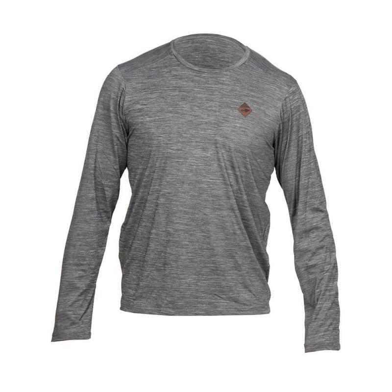 e817a89e6420b Camisa Com Proteção Solar Mormaii UV50+ Dry Comfort Masculina - Cinza