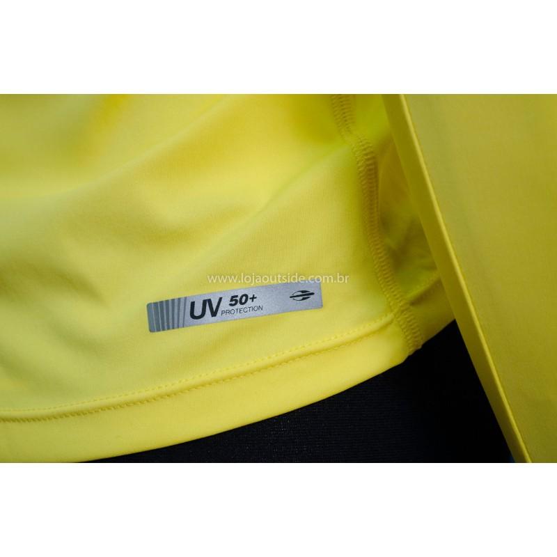Camisa Manga Longa de Poliamida Feminina UV50+ Mormaii 4bc4aaad779