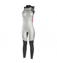 Roupa de Neoprene Mormaii Long John Cavado Natação e Triathlon Feminino 3,1mm