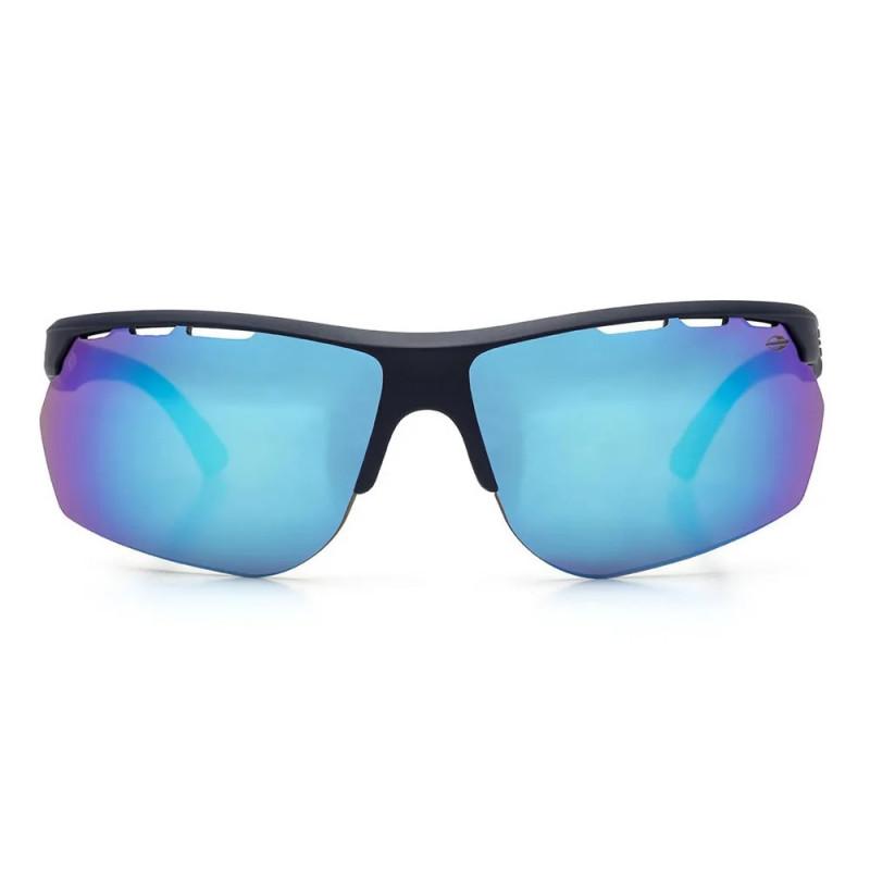 Óculos de Sol Mormaii Thunder - Marinho Fosco Revo Azul d9464cd9c9