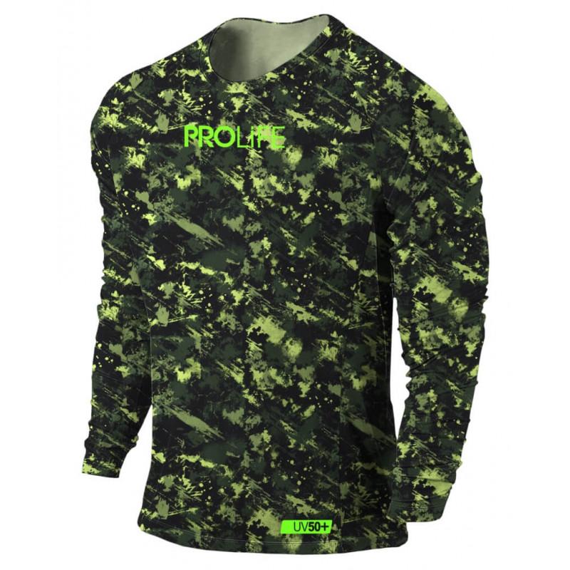 Camisa Prolife UV50+ Sun Protection Camuflada 0ec4893dfc8