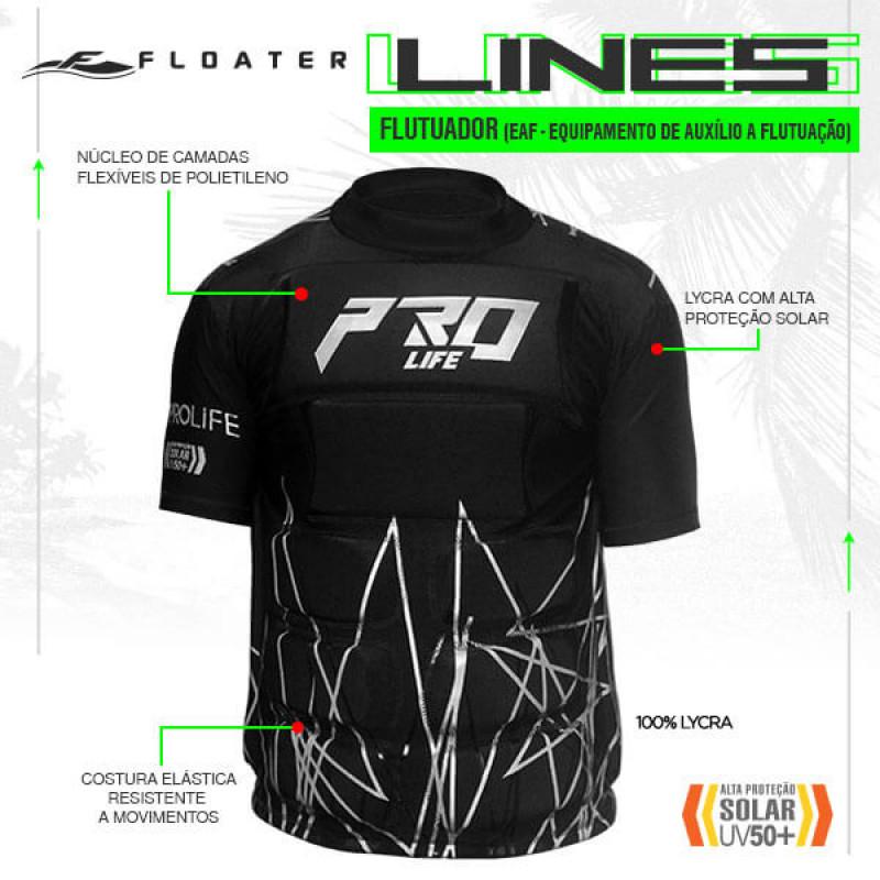 135c2ff58 Camisa Flutuadora Floater V5 Lines ProLife
