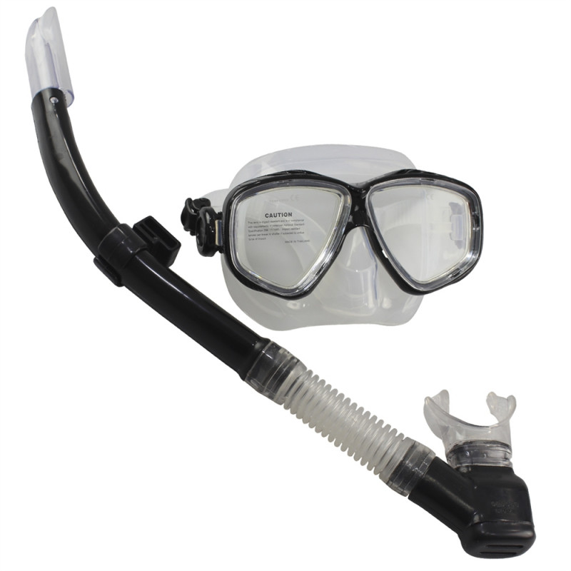 Kit de Mergulho Seasub Prata Máscara Splenda + Respirador Aero Pro + Bolsa d9ec571fe5