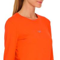 0ccbe2437d296 Camiseta Manga Longa Speedo UV Protection Laranja Fluor Feminina - (GG)