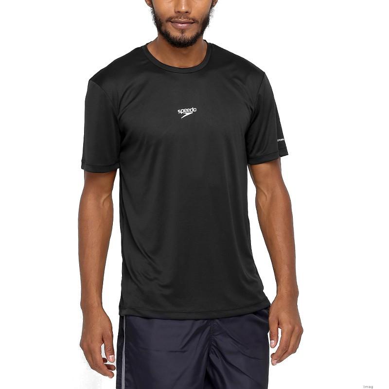 f04c3d78c8 Camisa Regata Manga Curta Basic Speedo +UV50