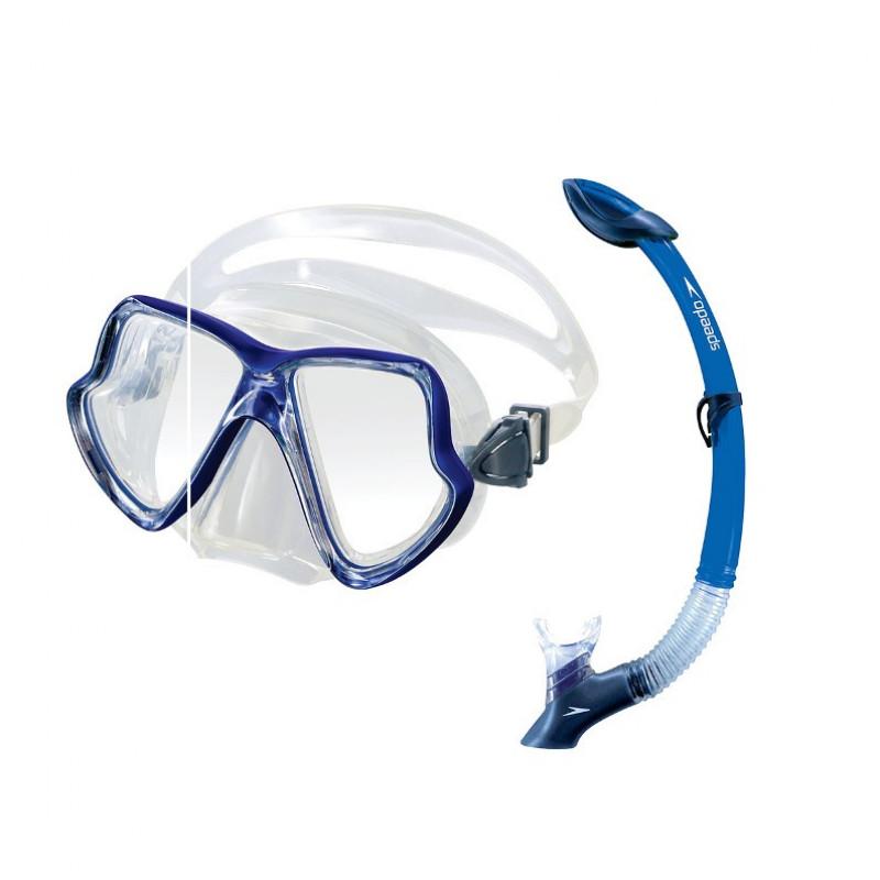 510f28087 Kit de Mergulho Speedo Máscara Maui + Snorkel